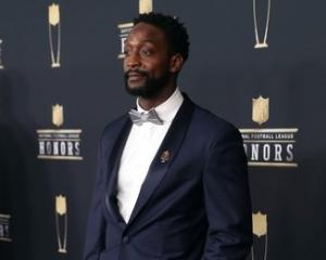 Charles Tillman during red carpet arrivals for the NFL Honors show. Photo: Brace Hemmelgarn-USA...