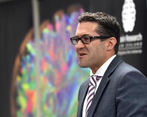 Brain Research New Zealand Dunedin Dementia Prevention Research Clinic director Nick Cutfield...