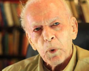 Gene Sharp's ideas about the use of nonviolent tactics have been highly influential. Photo: Youtube