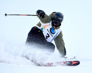 Fabian Boesch, seen here at the FIS Freestyle Ski and Snowboard World Championships in...