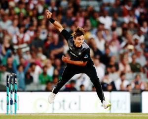 New Zealand's Trent Boult got clobbered for 25 runs in one over by Australian batsmen in their...