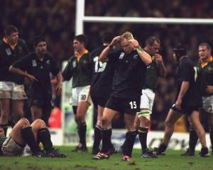 Jeff Wilson was one of many players violently ill on the morning of the 1995 Rugby World Cup...