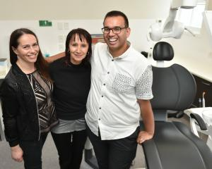 The faces behind Te Kaika health hub in one of the facility's new dental clinics, Te Kaika...