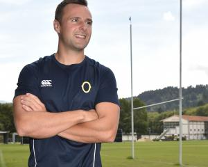 New Otago Rugby Football Union referee education officer James Doleman  soaks up the atmosphere...