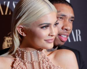 Kylie Jenner and Travis Scott. Photo: Reuters