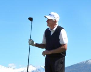 Kiwi golfing great Sir Bob Charles was in good spirits as he took part in the Wanaka Legends Pro...