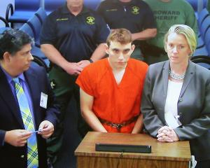 Shooting suspect Nikolaus Cruz appears in court. Photo: Getty