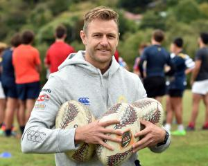 New Otago Rugby Football Union player development manager Paul Galland, at Moller Park this week....