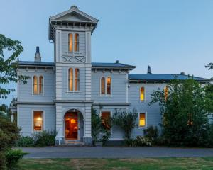 Westoe has at least six bedrooms and an Italianate tower. Photo: Supplied