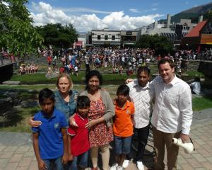 The Queenstown community, including Basket of Blessings Queenstown organiser Tam Schurmann ...