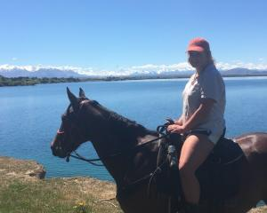 Briar Swanson is enjoying life as a Coleridge Downs Training Farm cadet. Photo: Supplied