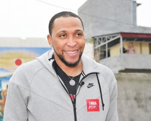 Former NBA star Shawn Marion is part of the new Breakers ownership group. Photo: Getty Images