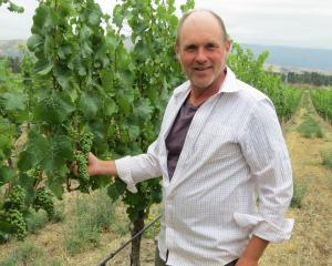 Bald Hills vineyard viticulturist Gary Crabbe was pleased when the vineyard's 2015 pinot noir won...