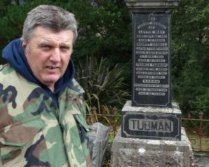 Dunedin historian Peter Trevathan is keen to make contact with the descendants of local six men...