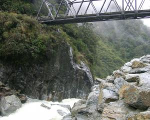 The Gates of Haast. Photo: ODT.