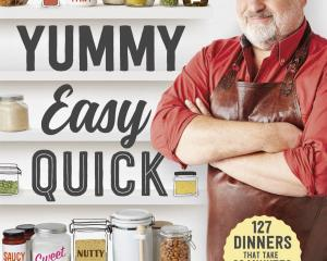 Yummy, Easy, Quick, by Matt Preston, Macmillan, $40