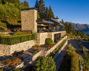 This palatial home at the top of Queenstown Hill is on the market property. Photo: