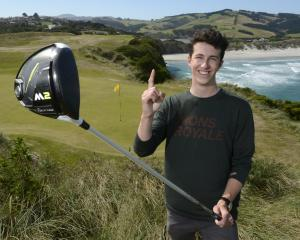 One stroke from his driver was all it took Mackenzie Gibson to hole-out on the ninth hole of...