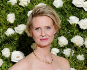 Actress and activist Cynthia Nixon. Photo: Reuters