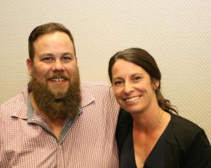 Milton resident Troy Calteaux, pictured with his wife, Heather, has been named the country's top...