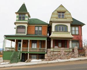 Victorian homes from Butte's glory days. Photo: Getty Images