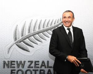 New All Whites coach Fritz Schmid has announced his first national squad. Photo: Getty Images