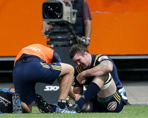 Liam Squire will be out for up to six weeks. Photo Getty Images