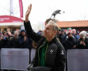 Joe Schmidt arrives at Twickenham ahead of Ireland's win over England recently. Photo: Getty Images