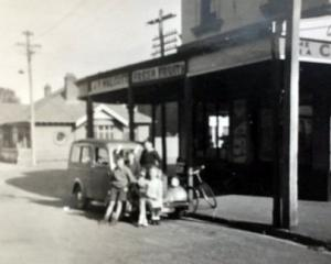 Rosemary Magrath, nee Fyfe, dug out this photograph of their old grocery shop on the corner of...