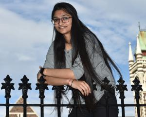 Khushboo Soni (19) won a New Zealand Excellence Award to study at the University of Otago. Photo:...