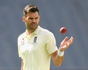 James Anderson. Photo: Getty Images