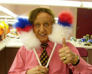 """English comedian Ken Dodd, who died earlier this week aged 90, was full of """"gertitude'' and..."""