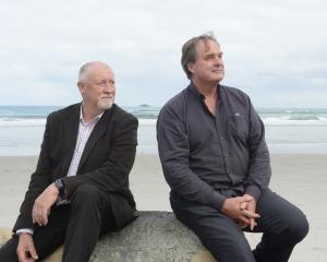 South East Marine Protection Forum recreational fishing representative Steve Bennett (left) and...