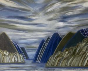 Going Through Fiordland 3, by Marilynn Webb
