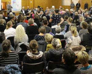 Northern Southland community members packed the Lumsden Memorial Hall on Wednesday night for a...