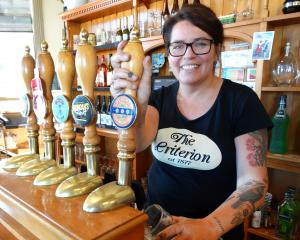 Criterion Hotel owner Sue Cameron-Duncan is excited about Oamaru's first beer festival, Hops on...