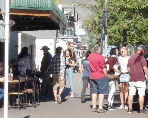 Wanaka's cafe culture is growing due to the influx of tourists. Photo: Kerrie Waterworth
