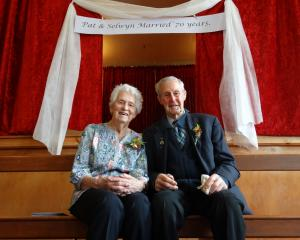 Oamaru couple Selwyn and Pat Stanger celebrated their 70th wedding anniversary at the Enfield...