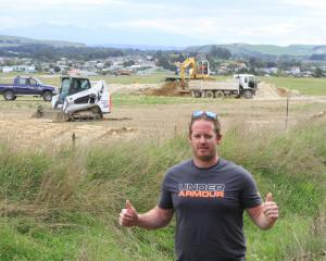 North Otago BMX Club president Jason Millns predicts the recently established club will grow once...
