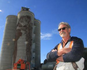 Waimate artist Bill Scott's latest murals will be his largest canvasses yet. He has begun work...