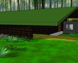 Kiwi Birdlife Park's planned new kiwi exhibit and incubation facility. Image: Kiwi Birdlife