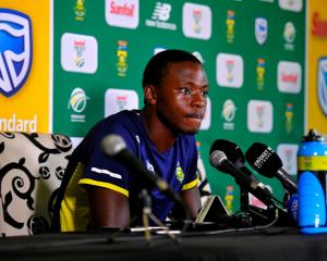 South Africa fast bowler Kagiso Rabada. Photo: Getty Images