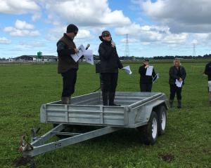 Dunsandel farmer Tony Coltman joined DairyNZ senior scientist Dr Ina Pinxterhuis to share his...