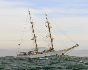 The SSV Robert C. Seamans, one of two tall ship research vessels operated by Sea Education...