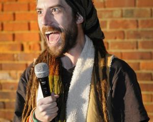 Christchurch comedian Snap presented by RuseWebsites wants to boost Dunedin comedy.PHOTO:...