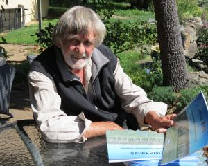 Author Ric Oram, of Alexandra, is soon to launch his new book, Latitude 45.15S - among the world...