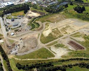 The Green Island landfill site where users will pay increased charges from March. Photo by...