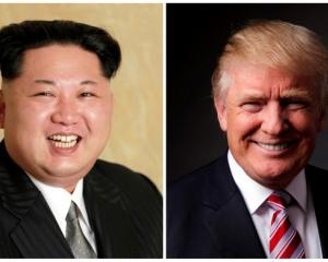 North Korean President Kim Jong-Un (left) and US President Donald Trump. Photo: Reuters