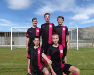 The first competitive football game on the new pitch at the Wanaka Recreation Centre was...