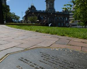 As a tribute to some of the country's most notable writers, 24 bronze plaques grace Dunedin's...